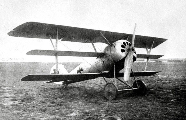 WWI aerial warfare