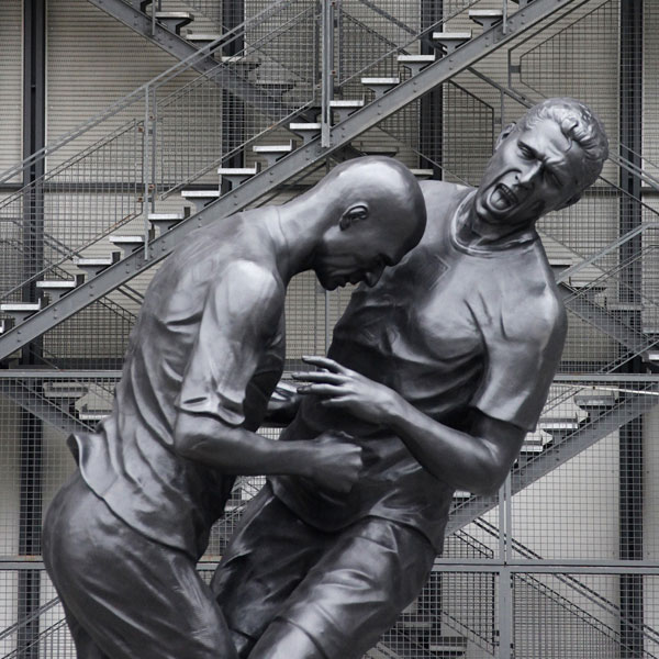 Zidane Statue