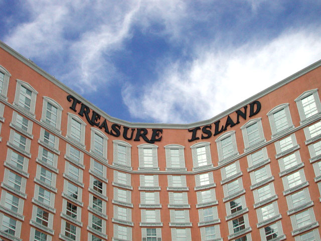 treasure island. i like the bend in the building for some reason