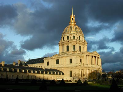 the dome at Invalides